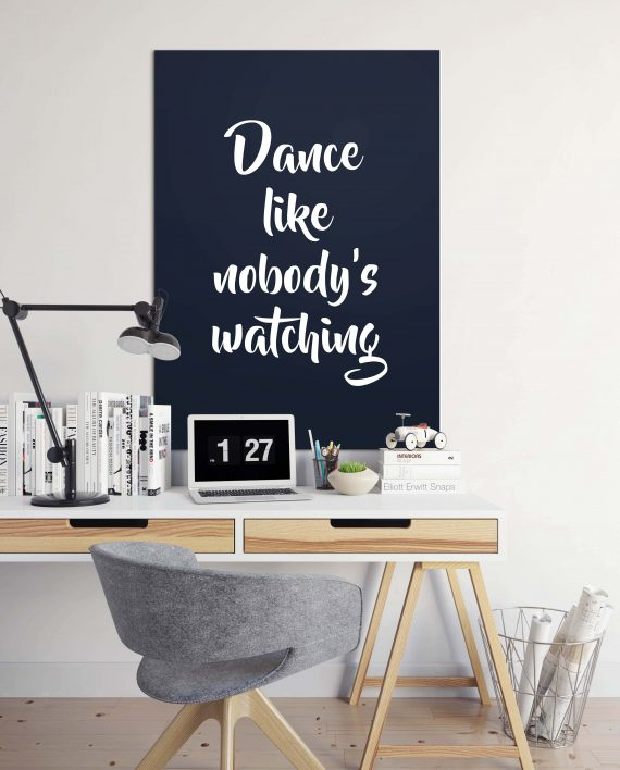 Poster Dance like nobody's watching