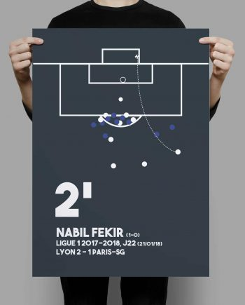 Decoration football Nabil Fekir